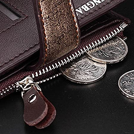 Amazon.com: Fishagelo 14 Card Slots Men PU Leather ...