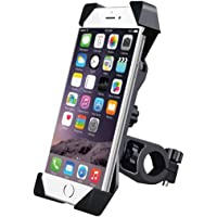One Touch Car Mobile Holder - Premium Universal Car Mount and Mobile Holder for Car Dashboard, Car Windshield, Home & Office Table/Desk for Smartphones with Multi Angle Adjustable & 360° Rotation (Bike Mobile Holder)