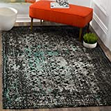 Cheap Safavieh Classic Vintage Collection CLV223C Navy and Teal Area Rug (8′ x 10′)
