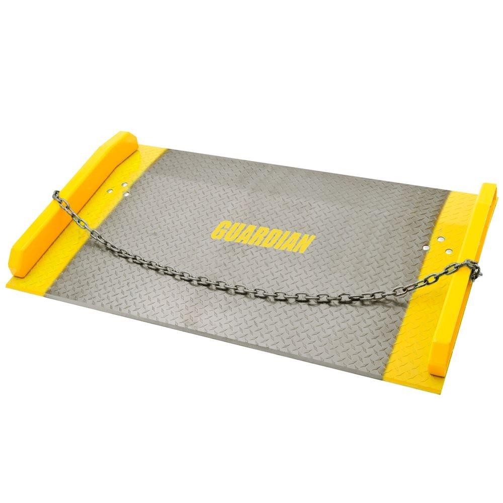 60'' x 48'' Aluminum Dock Board 10,000 lb. Capacity 7'' Rise