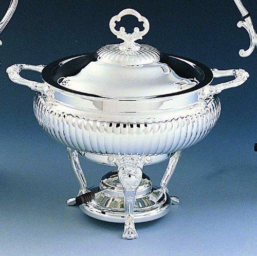 Elegance 89723 Chafing Dish, 3 quart, Silver