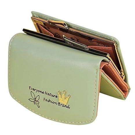 Skyeye Monedero Cremallera Creativa Bolso de Embrague Sra. Mini Monedero Bolso de Almacenamiento Bolsa de cosméticos Paquete de Tarjeta