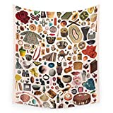 Society6 TABLE OF CONTENTS II Wall Tapestry Large: 88'' x 104''
