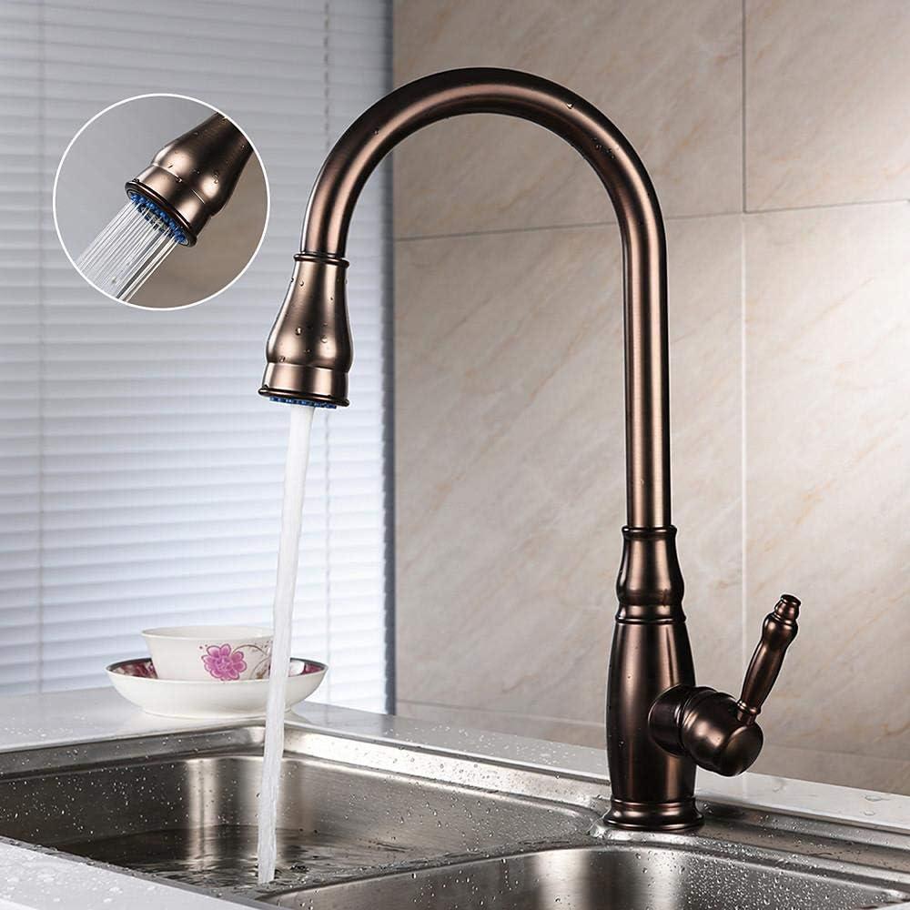 JEHO La rotation Salle de bain Accessoires de cuisine /économiseur deau 3 modes eau du robinet filtre de robinet