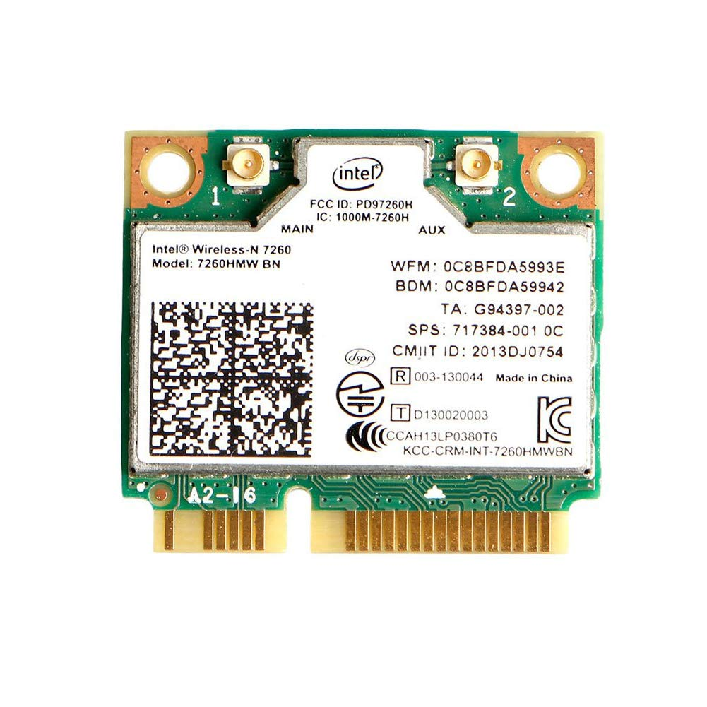 Mini Pcie Mqupin Dual Band Wirless - Intel 7260.hmw Dual Ban