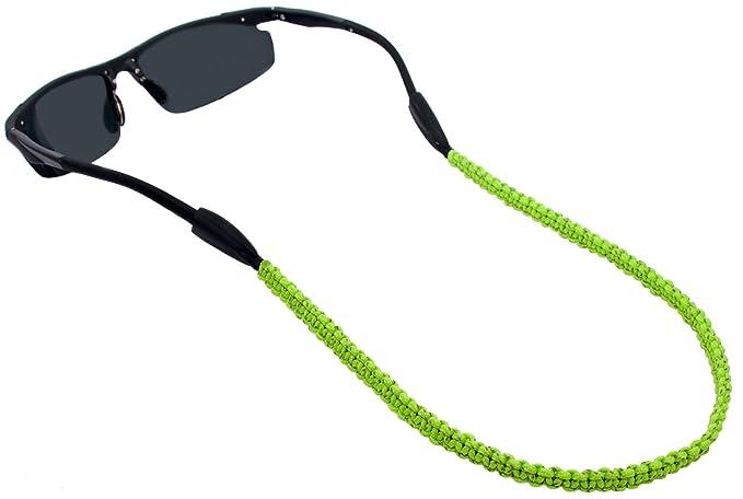 Rainbow Gafas de Sol Retenedor Porta Cordón Correa Sujetador para Gafas Deportivas/Cinta para Sujetar Gafas/Paracorde Reflexivo… KO3Ieo7