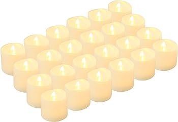 24Pk Kohree Flameless LED Tealight Candles