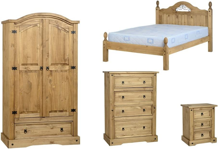 American Expressions Sleigh Bedroom