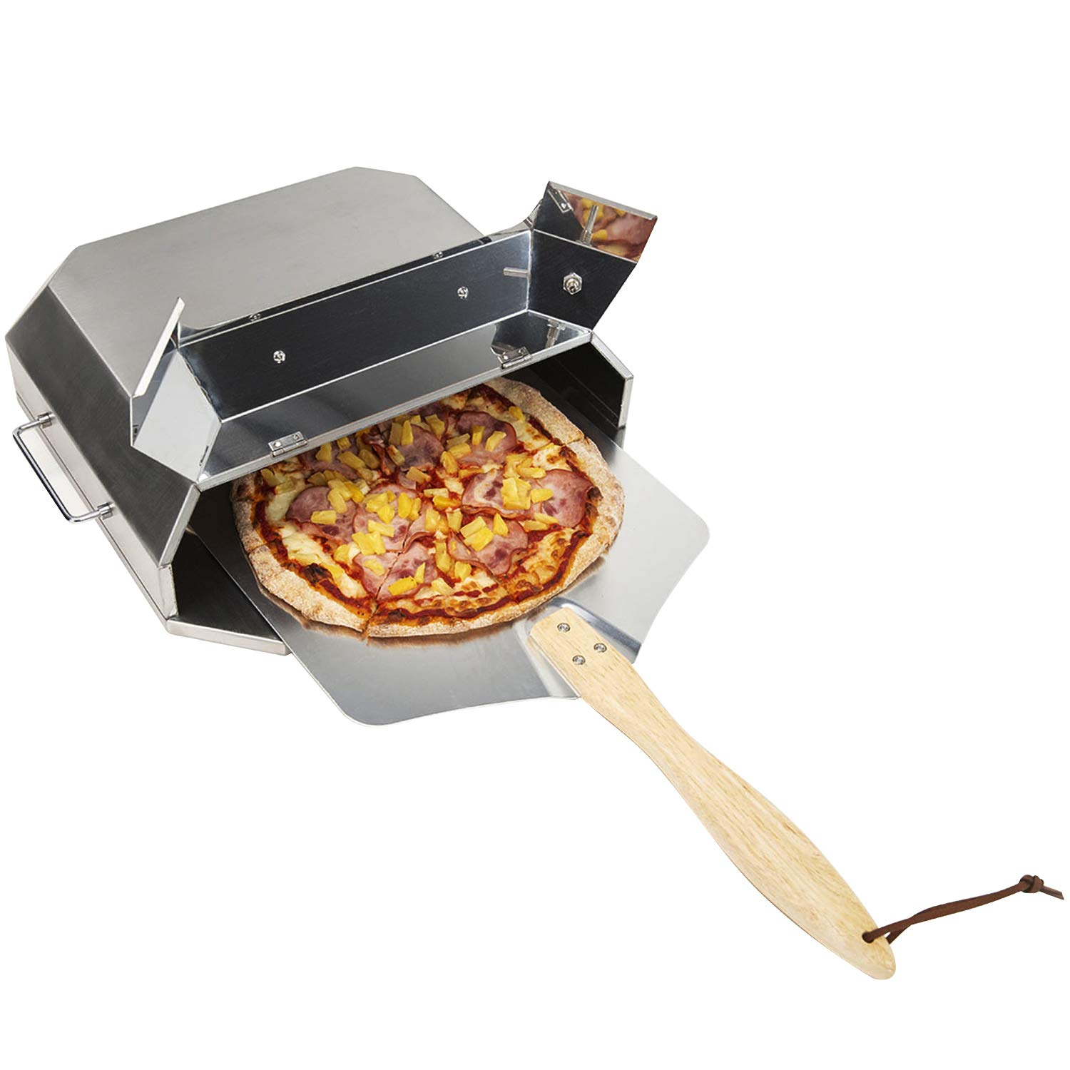 only fire Universal Stainless Steel Pizza Oven Kit Fits for Any Gas Grilll by only fire (Image #3)