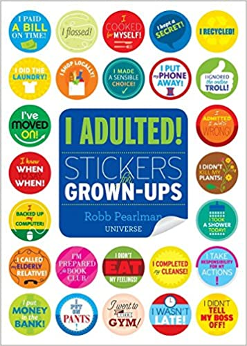 Stickers for grown ups 9780789332905 robb pearlman books