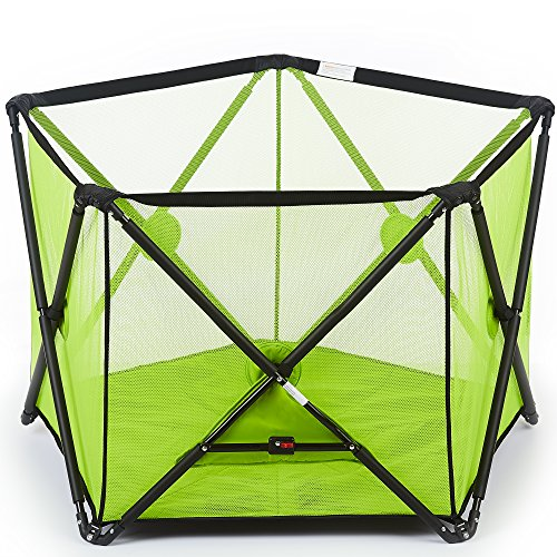 Dream On Me Olivia Ready-To-Go Playard, Green