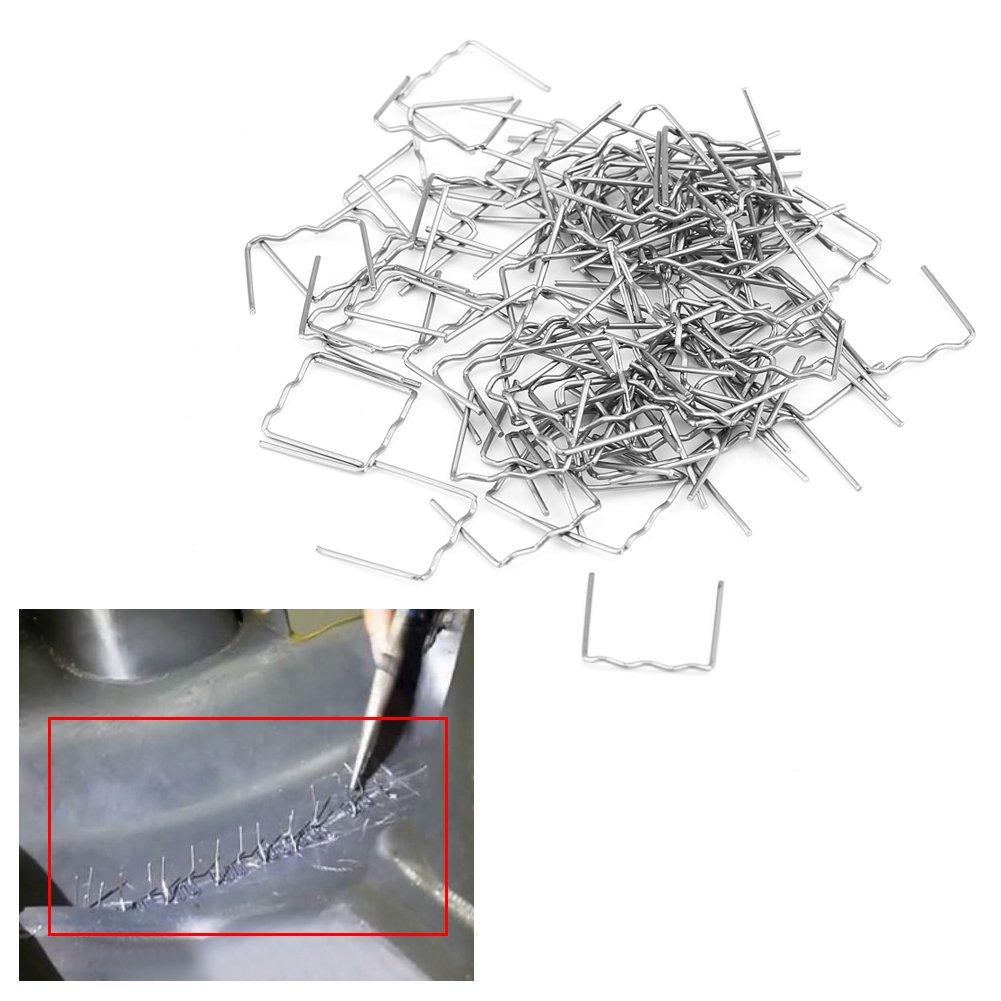 100 unidades, 0,8 mm, 3 tipos disponibles Grapas de soldadura para coche Keeno