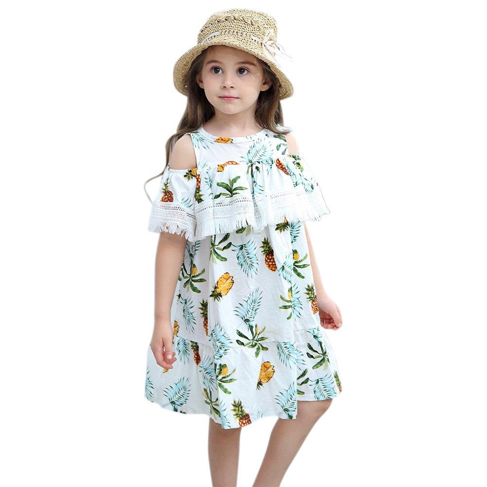 Ocamo Princess Dress£¬Stylish Girl Pineapple Bare-shoulder Skirt,Party Wedding Outfits