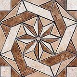 16 3/8' X 16 3/8' Tile Medallion - Daltile's Heathland Tile Series, Home Depot Tile
