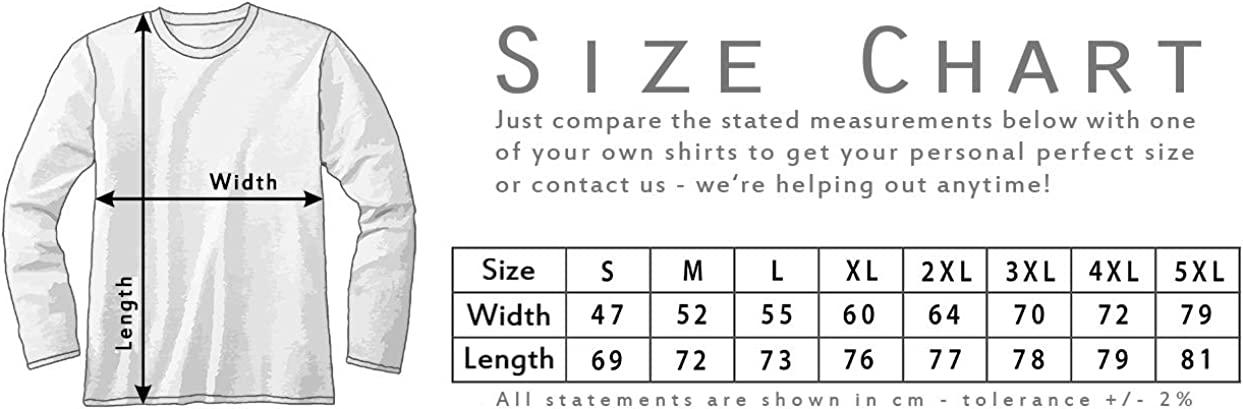 Urban Backwoods El Professor T-Shirt /à Manches Longues Long Sleeve
