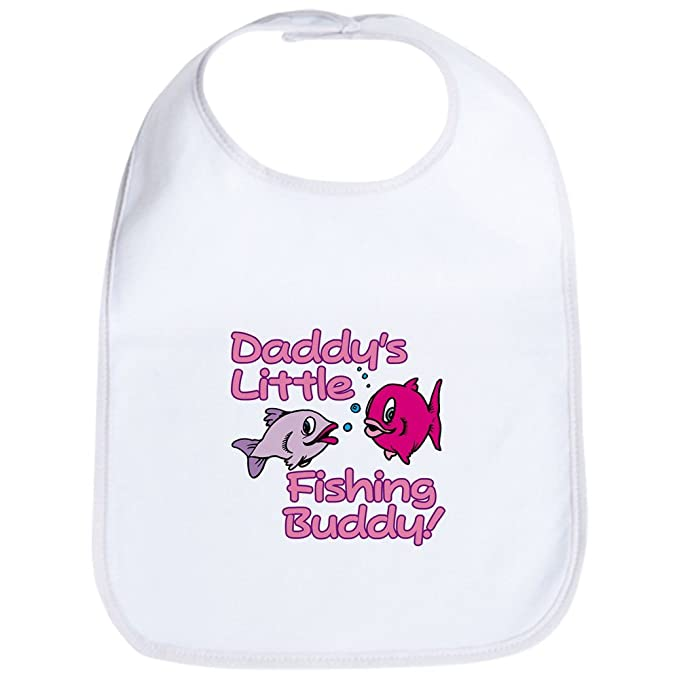0b8c11dddca Amazon.com  CafePress - DADDY S LITTLE FISHING BUDDY! Bib - Cute ...