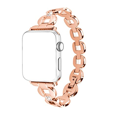 Correa para Apple Watch Bands,Rosa Schleife® Mujer Femenino Correa Apple Watch Series 2