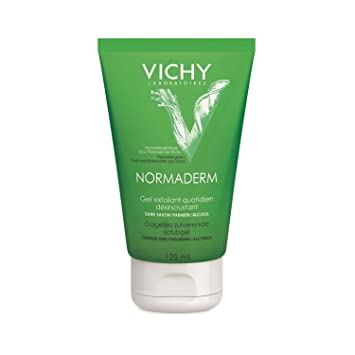 Normaderm Daily Exfoliating Cleansing Gel Vichy Laboratories 125 ml Gel For Unisex Bulk Lip Balm Buffalo Bills
