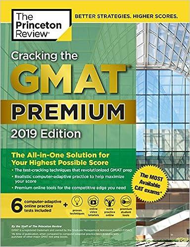 Gmat the pdf cracking review princeton