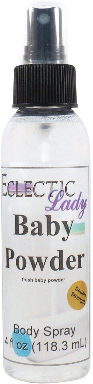 Baby Powder Body Spray (Double Strength), 4 ounces
