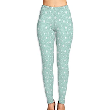 d0fd2ecd19c3 Amazon.com  WJM SHOW Women s Garden Mint Chocolate Leggings Yoga Long Pants  Casual Sweatpants Athletic Gym Pants  Clothing