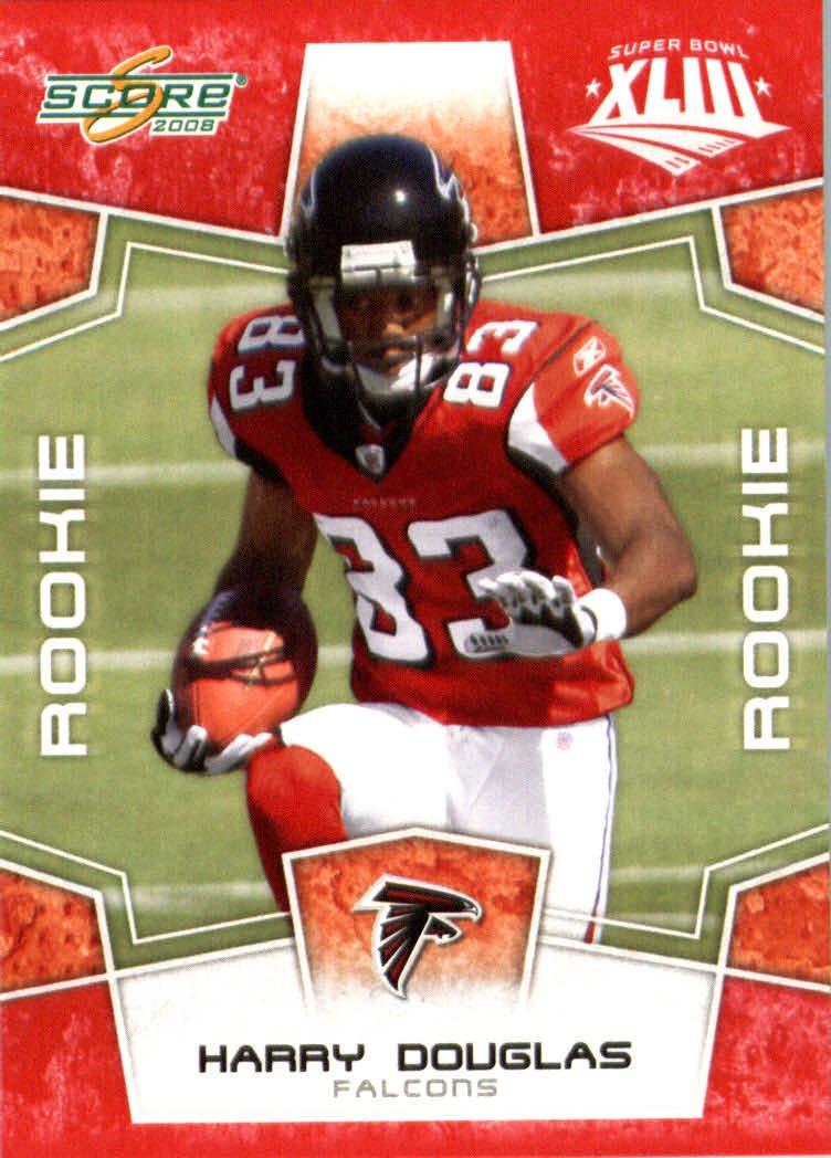 100%品質 2008スコアレッドSuperbowl – Edition NFLフットボールカード(のみ2400 B00B7TTRPW Made ) – # – 391 Harry DC - ( RC – ルーキーカード) WR – Atlanta Falcons B00B7TTRPW, 岐阜市:1ca8c30c --- arianechie.dominiotemporario.com