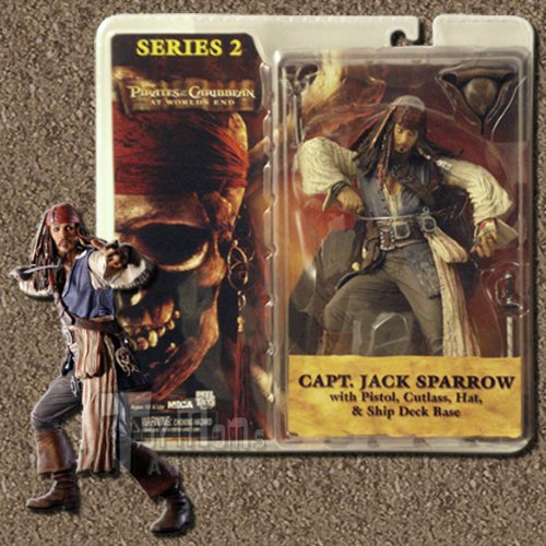 Neca Jack - Pirates of the Caribbean: At World's End Series 2 > Capt. Jack Sparrow Action Figure