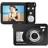 Digital Camera 2.7 Inch 30 Mega Pixels HD Camera Rechargeable Mini Camera Students Camera Pocket Camera Digital Camera…