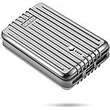 Zendure A3 モバイルバッテリー 10000mAh 24ヶ月間安心保証 軽量 ポータブル 充電器 / 2.4A出力 iPhone/ipad / Galaxy/Xperia / iqosタブレット/ゲーム機/カメラ 等対応(10000mAh シルバー )