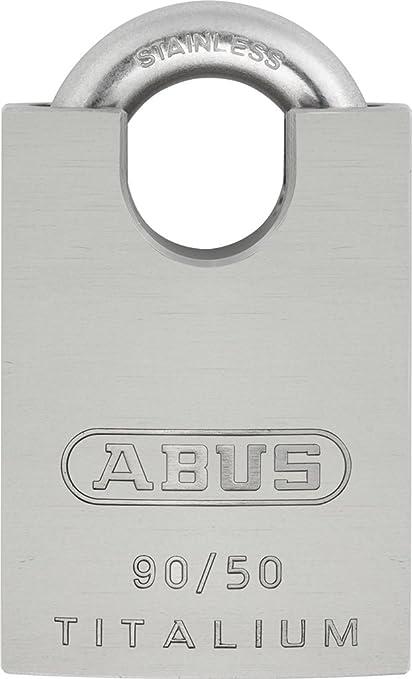 Abus 90 50 KA Titalium 50mm Body with Stainless Steel Shackle - Padlocks -  Amazon.com 653f8bab4c1