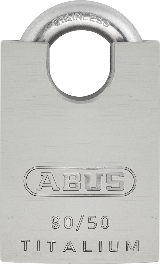 Abus 90/50 KA Titalium 50mm Body with Stainless Steel Shackle