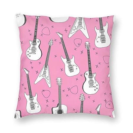 Guitarras Rosa Tela de la Guitarra para Niñas Bandas de Rock ...