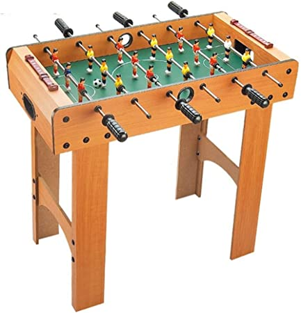 Futbolines Máquina Mesa Rectangular De Juguete De Niño Regalo Doble Fiestas For Niños De Madera (Color : Brown, Size : 37 * 69 * 64cm): Amazon.es: Hogar