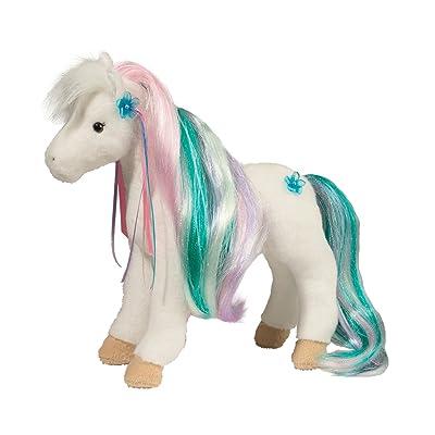 Douglas Rainbow Princess Horse Plush Stuffed Animal: Toys & Games