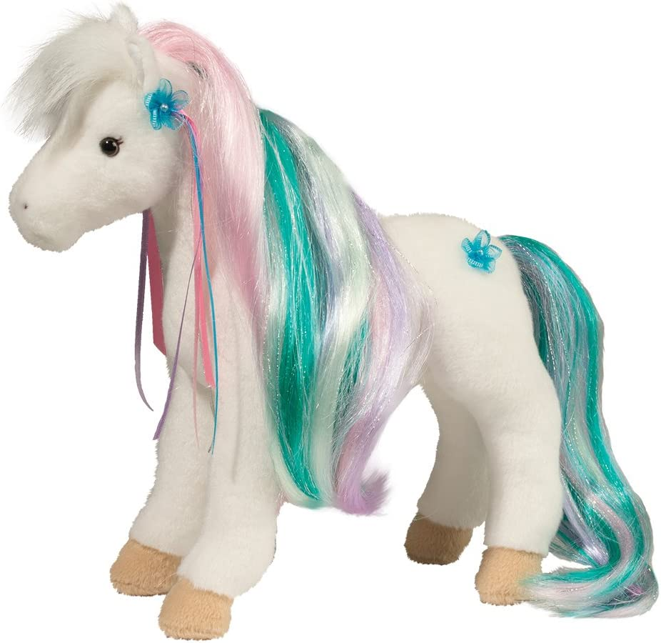 "Cuddle Toys 763 Rainbow Princess Horse Plush Toy 12/""//30 cm Long"