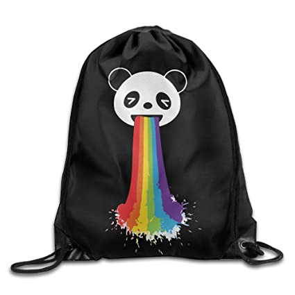 Amazon.com: Gay Panda LGBT Pride Cool Drawstring Backpack String Bag: Home & Kitchen