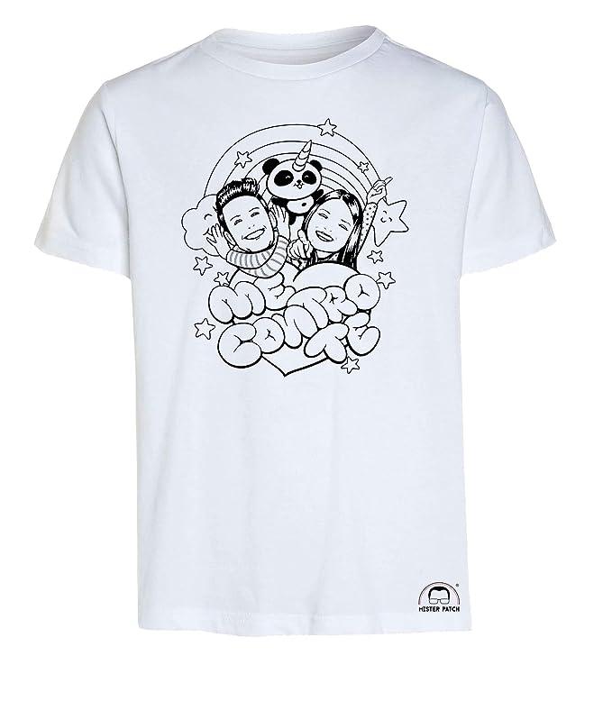 Idea Regalo Per Bambini Solo Maglietta T Shirt Da Colorare Me