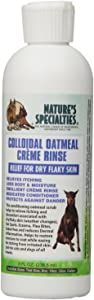 Nature's Specialties Colloidal Oatmeal Creme Rinse for Dogs Cats, Non-Toxic Biodegradeable