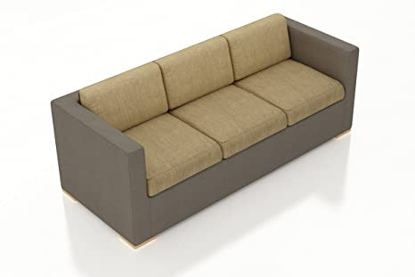 Amazon.com: Harmonia Living HL-ELE-TP-S-HB Element Sofa ...