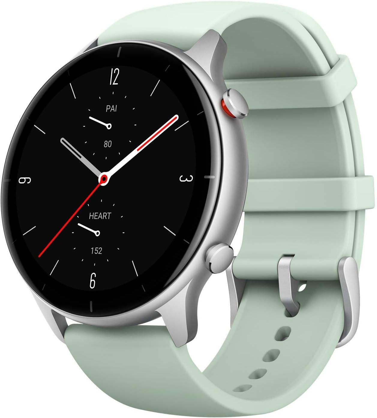 Amazfit GTR 2e Smartwatch Reloj Inteligente 90 Modos Deportivo 5 ATM Duración de la batería 24 Días Medición de la saturación de oxígeno en Sangre