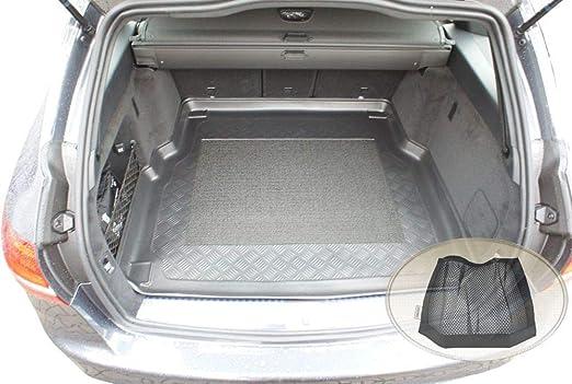Zentimex Z3022825 Antirutsch Kofferraumwanne Fahrzeugspezifisch Klett Organizer Laderaumwanne Kofferraummatte Auto