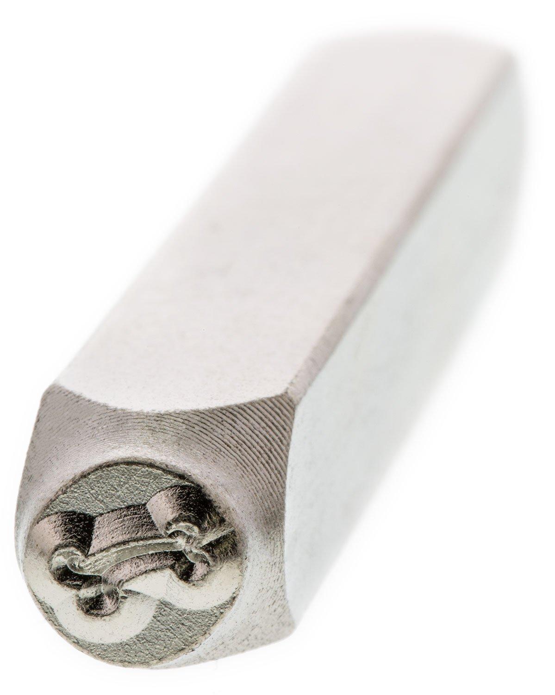 ImpressArt Dog Bone, 6mm High Cooksongold