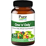 Pure Essence Labs One 'n' Only - World's Most Energetic One Daily Multiple - 90 Tablets