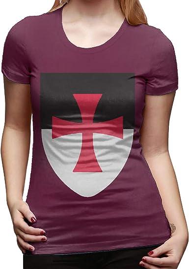 Aosepangpi - Camiseta de Manga Corta para Mujer, algodón, diseño ...