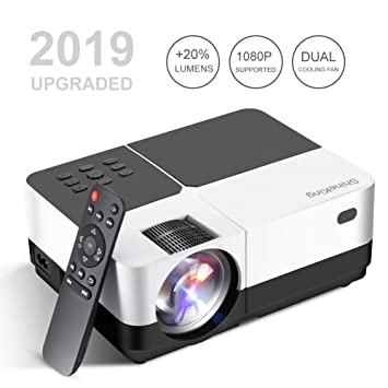 Amazon.com: Mini proyector, Baililai 2800 lúmenes LED ...