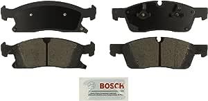 Bosch BE1455 Blue Disc Brake Pad Set for Select Dodge Durango: Jeep Grand Cherokee; Mercedes-Benz GL350, ML250, ML350, ML400 - FRONT