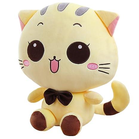 Peluche de peluche suave animales de peluche de juguete Beige de gato/Cat Doll 39
