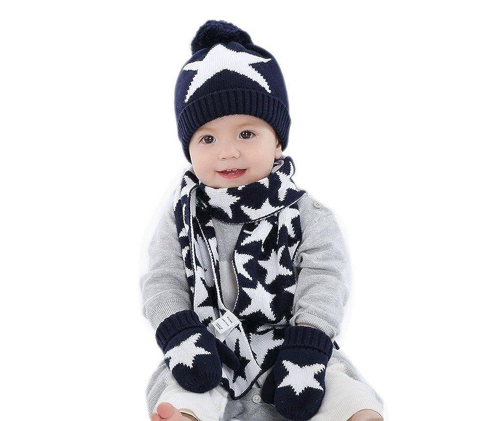 Damen Schal Mütze Handschuhe Set Box Winter Geschenk Wintermütze Accessoires NEU