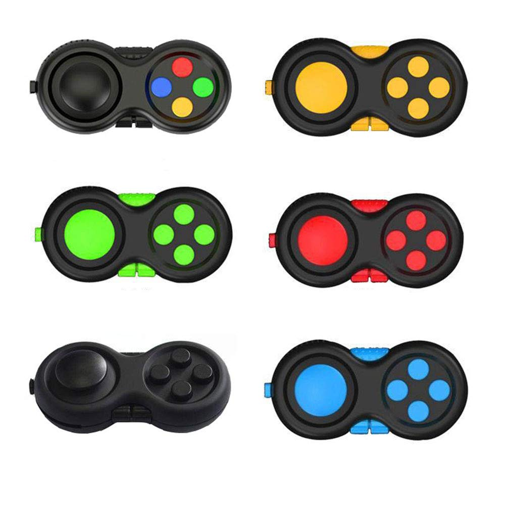 6 Features Fidget Pad Decompression for Anxiety and Stress Relief