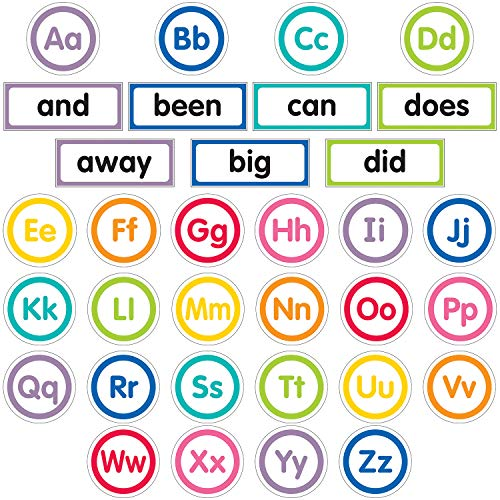 Schoolgirl Style Decorative Just Teach Word Wall Bulletin Board Set (110394)